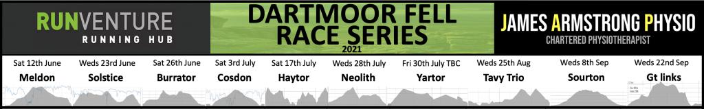 Dartmoor Fell Race Series Banner